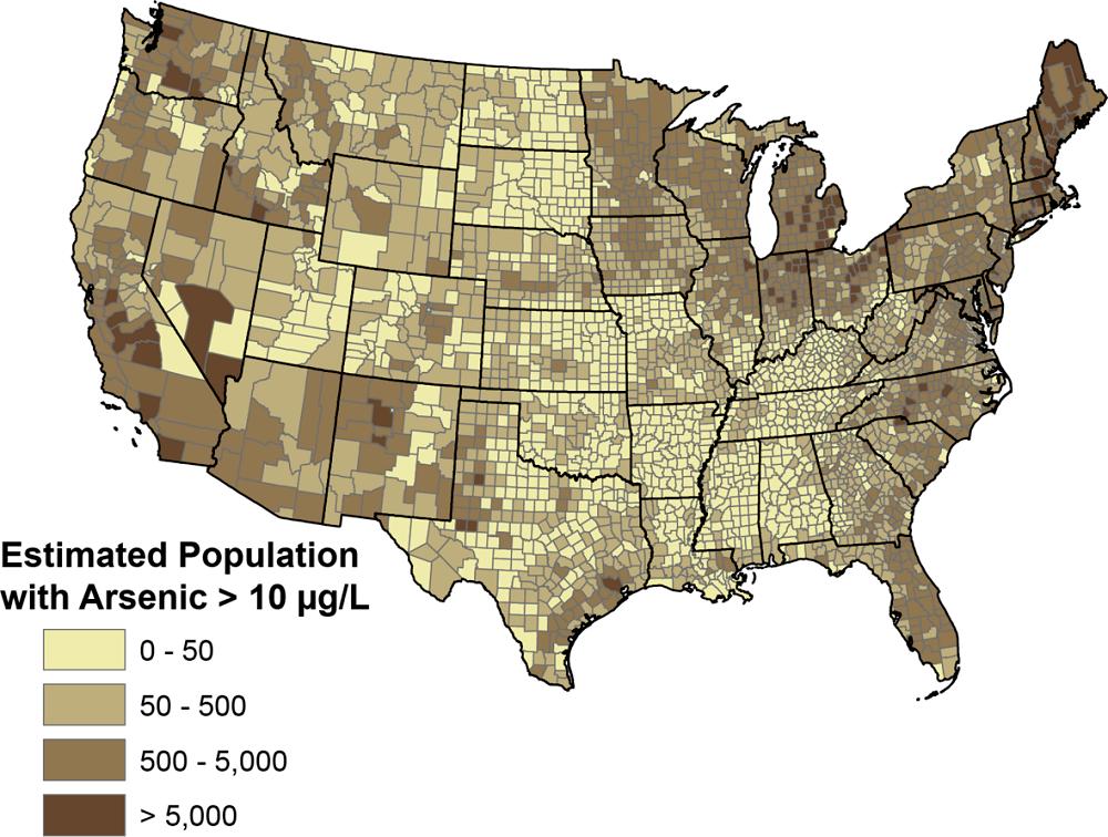 Arsenic Contamination in USA